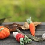 Légumes amigurumi