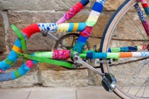 Vélo en crochet