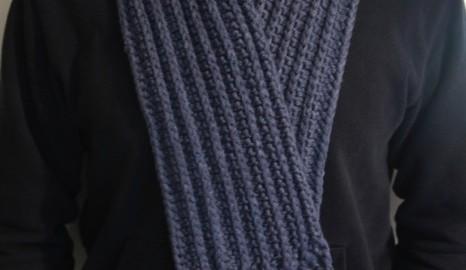 L'écharpe de l'homme