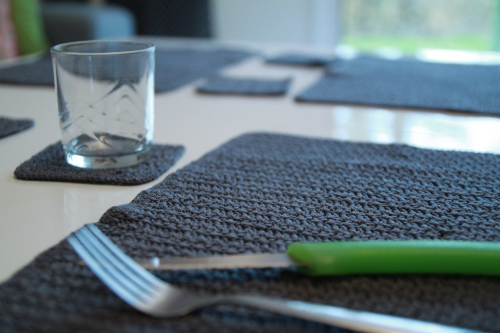 Set de table en crochet