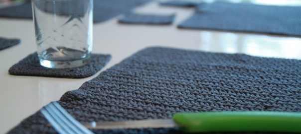 Mes Sets de table en crochet
